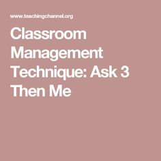 A Classroom Management Plan That Works  Smart Classroom