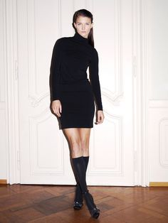 A sustainable innovative design. This wonderfully soft turtleneck dress made of, and with, biodegradable components is a real winner in every respect thanks to its comfort, style and innovative design. #c2c #sustainability#sustainablefashion