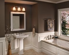 Gray and brown bathroom color ideas brown and white bathroom brown bathroom color ideas bathroom baseboard . gray and brown bathroom color Dark Brown Bathroom, Tan Bathroom, Dark Brown Walls, Brown Bathroom Decor, Bathroom Mirror Lights, Bathroom Light Fixtures, Bathroom Vanity Lighting, Bathroom Colors, Bathroom Ideas