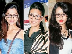 Men love wooing women in glasses especially when they wear them as stylish fashion accessories! While these frames may spell geekiness, studies show that men are attracted to bespectacled women, as it makes them appear 'intellectually intimidating' and 'irresistible'. Check out six Bollywood celebrities who rock the geek look.