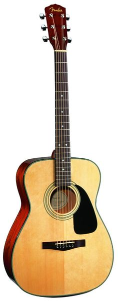 Fender Guitar- The guitar I'm using right now is a 24 year Fender Acoustic Guitar. It's been passed down in our family and I love it to bits :)