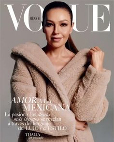 Tommy Mottola, Vogue Magazine Covers, Vogue Covers, Thalia, Fashion Editor, Fashion News, Dame Helen, Mexican Actress, Vogue Mexico