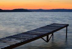 Sunset at Lake Balaton, Hungary by Andras Szenasi on 500px
