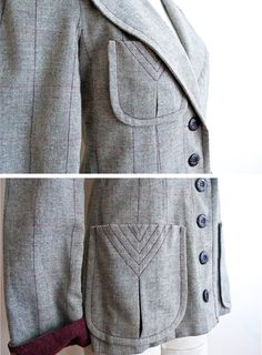 Beautiful pocket detail