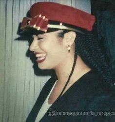 Selena Quintanilla with braids