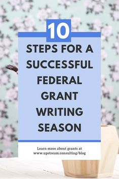 How to win federal grants : Writing a federal grant proposal can take a lot of time and energy. Click through to read our 10 steps for ensuring your next federal grant writing season is a success! Grant Proposal Writing, Grant Writing, Writing Tips, Writing A Business Proposal, Email Writing, Government Grants For Women, Nonprofit Fundraising, Fundraising Activities, Start A Non Profit