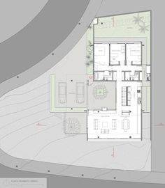 Image 38 of 38 from gallery of Kovacs House / Pessoa Arquitetos + Base Urbana. Best House Plans, Small House Plans, House Floor Plans, Layouts Casa, House Layouts, Simple House Design, House Front Design, Modern Architecture House, Architecture Plan