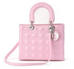 Mini Lady bag from Dior...perfect in pink