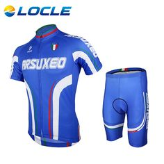 0835da80e ARSUXEO Women Short Sleeve Jersey + 3D Coolmax Padded Shorts Set ...