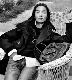 Ralph Lauren designed 10 core pieces—including jeans, a peacoat, and a safari jacket—that will always be available in stores and won't go out of style. See the campaign video here.