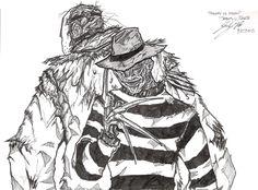 Freddy Vs Jason art