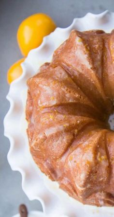 From the kitchen: Lemon Buttermilk Bundt Cake | {love+cupcakes} Blog