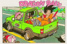 Dragon Ball by Akira Toriyama Akira, Dbz, Dragon Ball Z, Pixel Art, Manga Dragon, Dragon Quest, Animation, Car Drawings, Fan Art