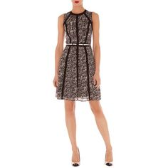 Karen Millen 2013 new fashion printing sleeveless M257