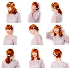 Three Hairstyles That Work With Flower Crowns - The Clothes Horse