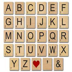 Scrabble Vorlage Ausdrucken