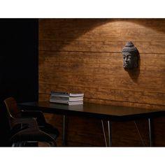 Papier peint Trompe l'oeil lambris bois vertical