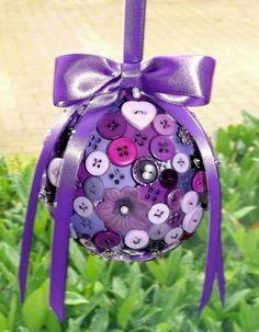 Button pomander   https://www.etsy.com/uk/listing/255669924/button-pomander-flower-girl-pomander