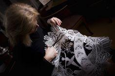 H.C. Andersens by Karen Bit Vejle, via Flickr paper craft
