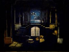 """The Little foxes""by Lilian Helman Theatre ""Skampa""Elbasan-1988 Scenic Design by Fatbardh Marku"