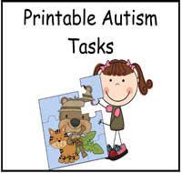 Printable Autism Tasks : File Folder Games at File Folder Heaven - Printable, hands-on fun!