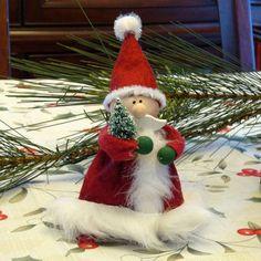Little Santa Claus Christmas Decoration