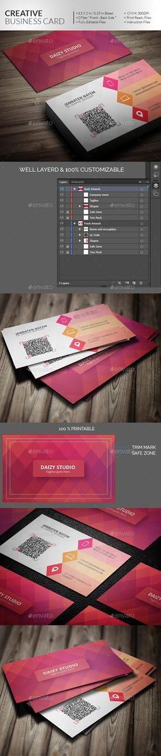 32 best jewelry business card images on pinterest business cards creative business card template vector eps ai illustrator reheart Images