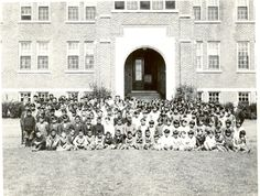 Students, Edmonton Indian Residential School, circa 1930 Native Indian, Native American Indians, Native Americans, Indian Pics, Indian Pictures, Indian Residential Schools, Boarding Schools, Innocence Lost, Indian People