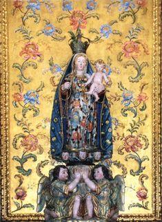 arte sacra -Nossa Senhora do Rosário,
