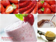 Opskrift - jordbær smoothie