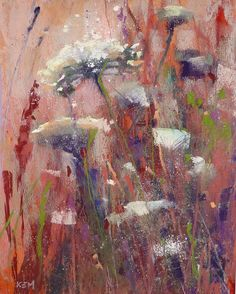 Painting my World: Mixing Pastel With Oil Paints with Random Underpaintings