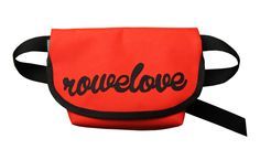 lukola handmade: ROWELOVE torebka na pas - czerwona // ROWELOVE hip...