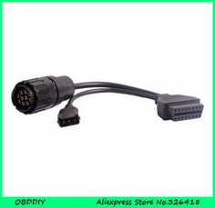 OBDDIY 10 Pin ICOM D Module New ICOM Motorcycle cable ICOM D cable for motorbike bmwMotorcycle Motor diagnostic cable ICOM D