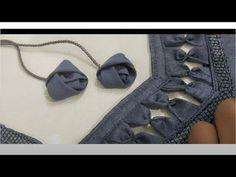 Beautiful new look blouse design Salwar Neck Designs, Neckline Designs, Back Neck Designs, Blouse Neck Designs, Blouse Patterns, Lehenga Designs Simple, Simple Blouse Designs, Stylish Blouse Design, New Look Blouses