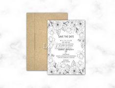 Save The Date, Rustic Wedding, Wedding Invitations, Wedding Invitation Cards, Wedding Invitation, Wedding Announcements, Wedding Invitation Design