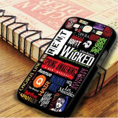 Wicked Broadway Musical Collage Samsung Galaxy S3 Case