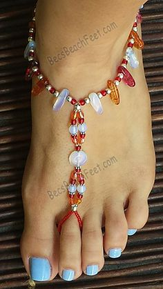 Here Comes the Sun  ✿ Foot Jewelry •  Barefoot Sandals • Anklets • Bracelets