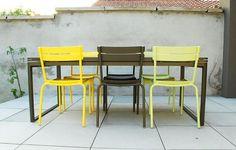 Este verano tómate un descanso en tu lugar especial. Mobiliario de la marca #fermob que puedes pedir en GMD.