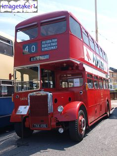 Old Manchester buses