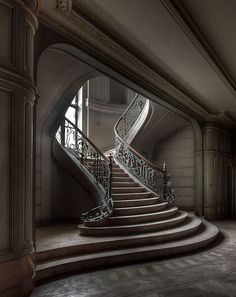 Abandoned Stairway by Marcel Wetterhahn on 500px
