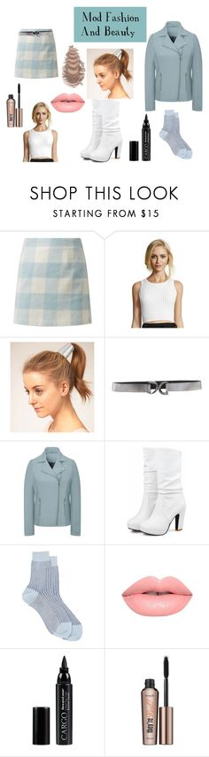 """""""Mod Fashion And Beauty"""" by vivianrose-11 on Polyvore featuring Wyatt, Orciani, Maria La Rosa, Lime Crime, CARGO and Benefit"""