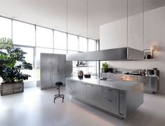the shiny kitchen metal decor for your culinary space stainless steel kitchen stainless steel and steel - Stainless Steel Kitchen Ideas