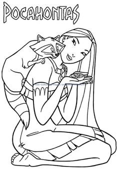 Printable Pocahontas Coloring Pages. Do you look for Disney Pocahontas Coloring Pages? Cartoon Coloring Pages, Animal Coloring Pages, Coloring Pages To Print, Free Printable Coloring Pages, Coloring For Kids, Coloring Pages For Kids, Coloring Books, Disney Princess Coloring Pages, Disney Princess Colors