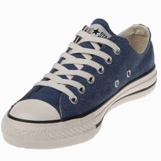 a3d17b15a980 The Converse Chuck Taylor Spec Blue Low Top shoes are outfitted with blue  canvas with matching rubber toe cab and eyelets
