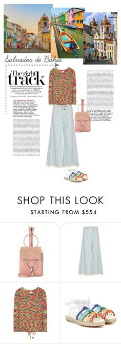 """""""Colours!"""" by marialibra ❤ liked on Polyvore featuring Chloé"""