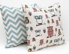 Pillows Owl Decor Nursery Decor Baby Pillow by FestiveHomeDecor, $32.00