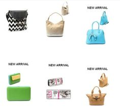 This week's New Arrivals are ADORABLE! Zig Zag Crossbody Bags and Magazine Clutches...see ALL the colors available at www.klassybags.com Click NEW ARRIVALS!
