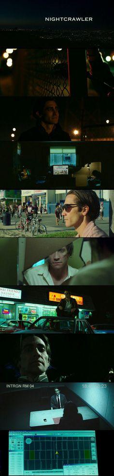 Nightcrawler(2014). Cinematography by Robert Elswit.