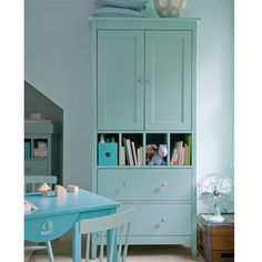 $3562.00  Amelia Armoire with Drawers and Cubbies, in Hot Lime  #PoshTotsNursery  room  2
