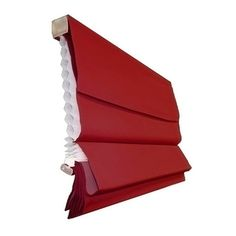 Room-darkening Cordless Red Roman Window Shade | Overstock.com These might work in my/Adrian's room?